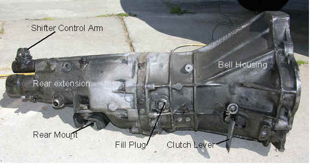 Tranny on Porsche 944 Turbo 1986 Fuel System Diagram