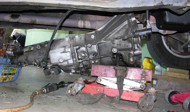 1995 f150 transmission replacement